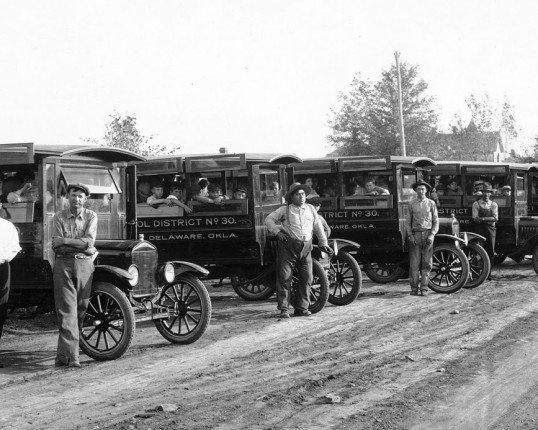 Early school buses